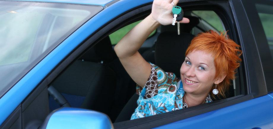 Att gå till en bilskola