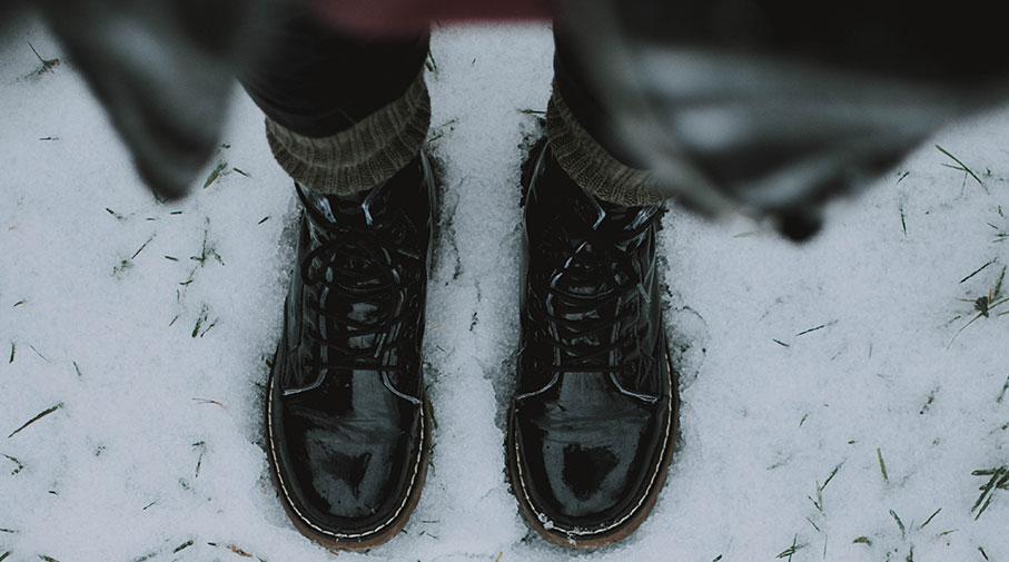 Kängor för vintern